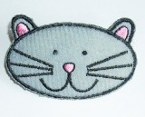 Cute Cat Padded Sew On Motif